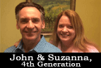 Suzanna and John